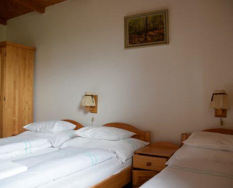 pokoj č.1 postele